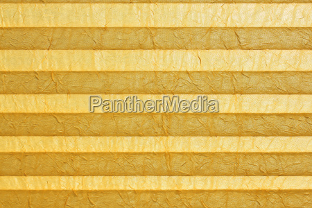 plissee yellow folding roller blind