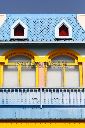 window colorful wall building architecture frame