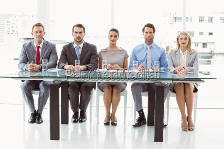 panel of corporate personnel officers in