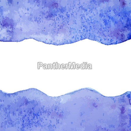 blue vector watercolor paint background