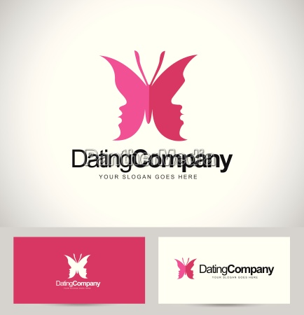 dating butterfly logo