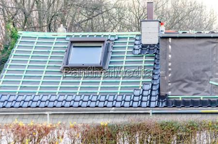 house roof modernization