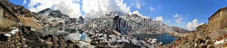gosainkunda mirror lake himalayas nepal