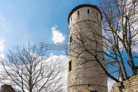 the plesse castle near goettingen