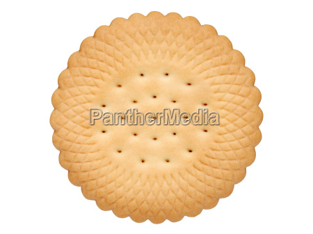butter biscuit round shape