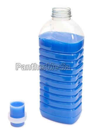 fabric softener with measuring cap