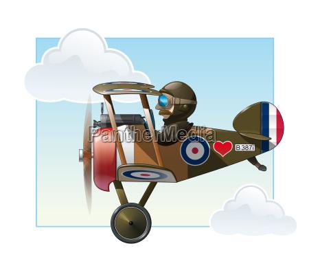 ww1 aeroplane toys vickers