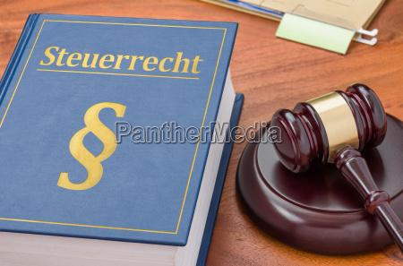 statute with richterhammer steuerrecht