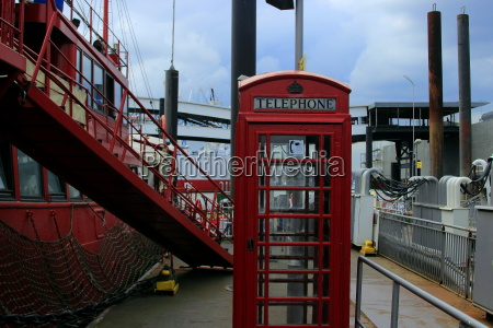 hamburg phone booth