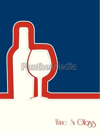 wine brochure design