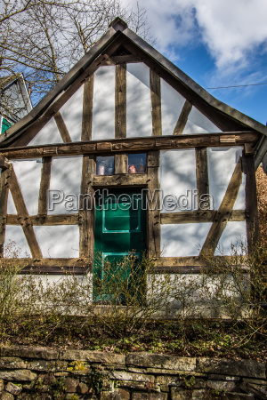 old half timbered house