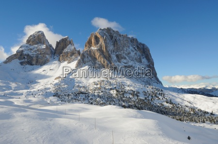 south tyrol in winter