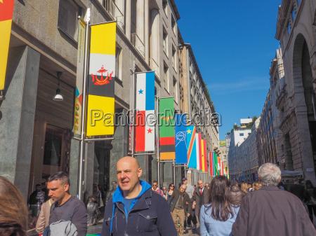 expo milano 2015 flags