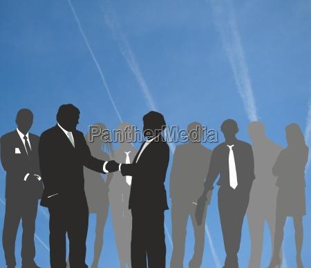 meeting businessman