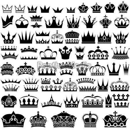 crown design set