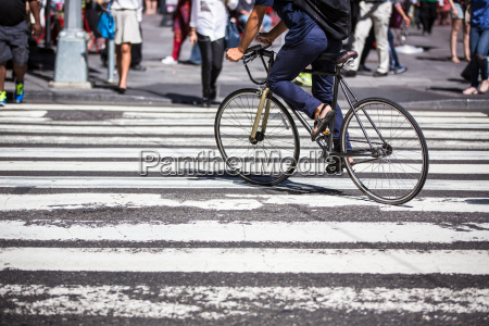 man on a bike on a