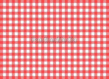 rustic tablecloth pattern as a background