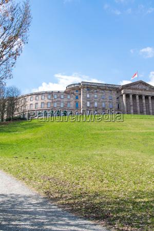 the castle wilhelmshoehe in kassel