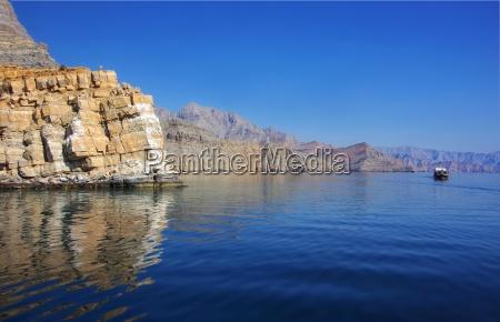 dhaufahrt in the fjords khassab arab