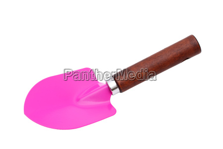 garden shovel isolated on white background