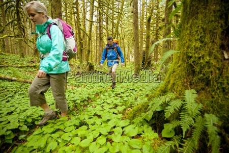 kathleen hasenoerl and david cole hiking