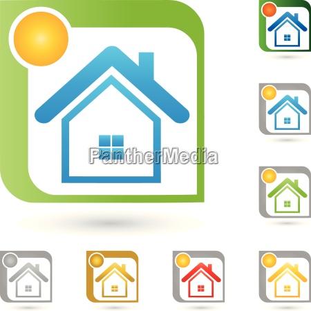 real estate logo house real estate