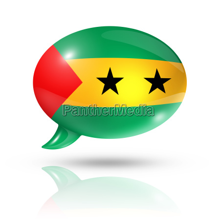 sao tome and principe flag speech