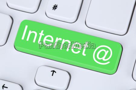 internet button on computer keyboard