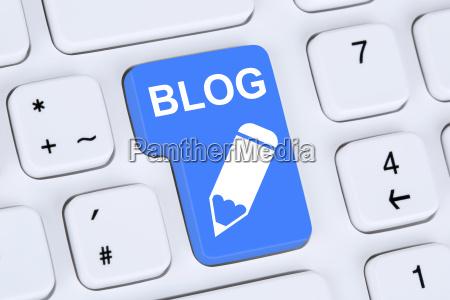 blog write online on the internet