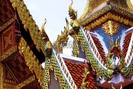 ancient, temple, at, lampang, province, thailand - 14038417