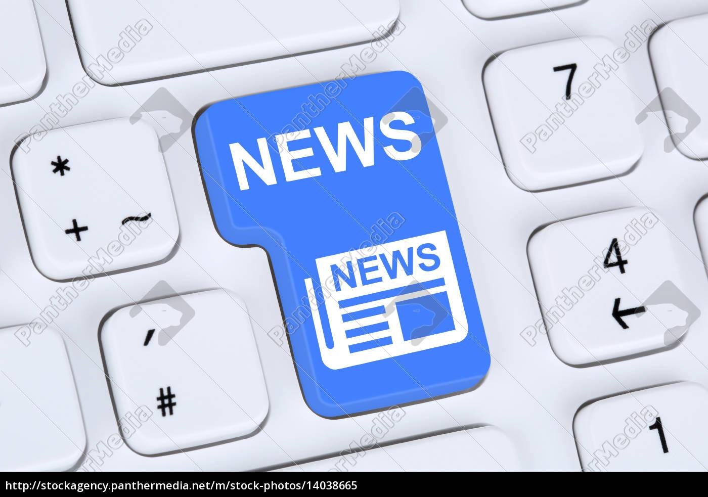 online, newspaper, news, on, computer - 14038665