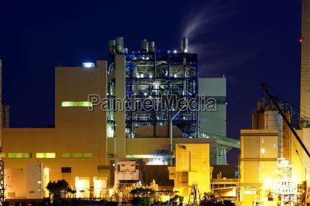 power, station, at, night - 14038481