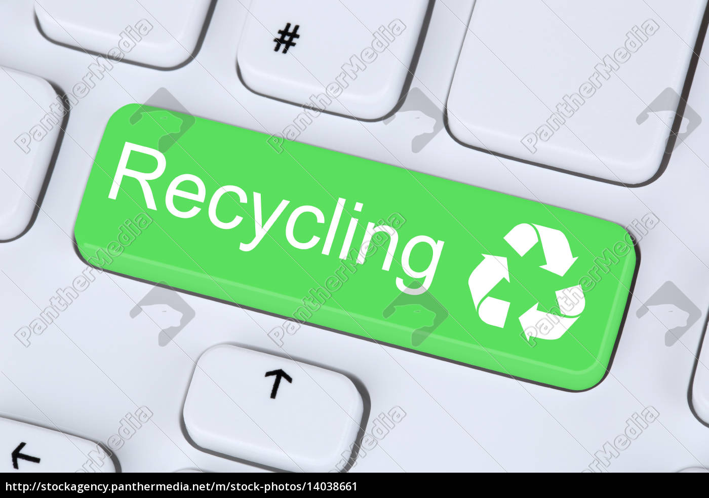 recycle, button, for, environmental, protection, on - 14038661