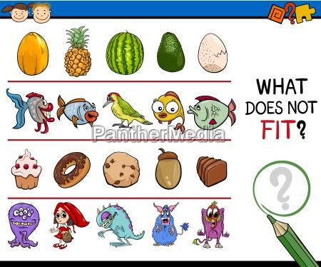 what, does, not, fit, game, cartoon - 14038133
