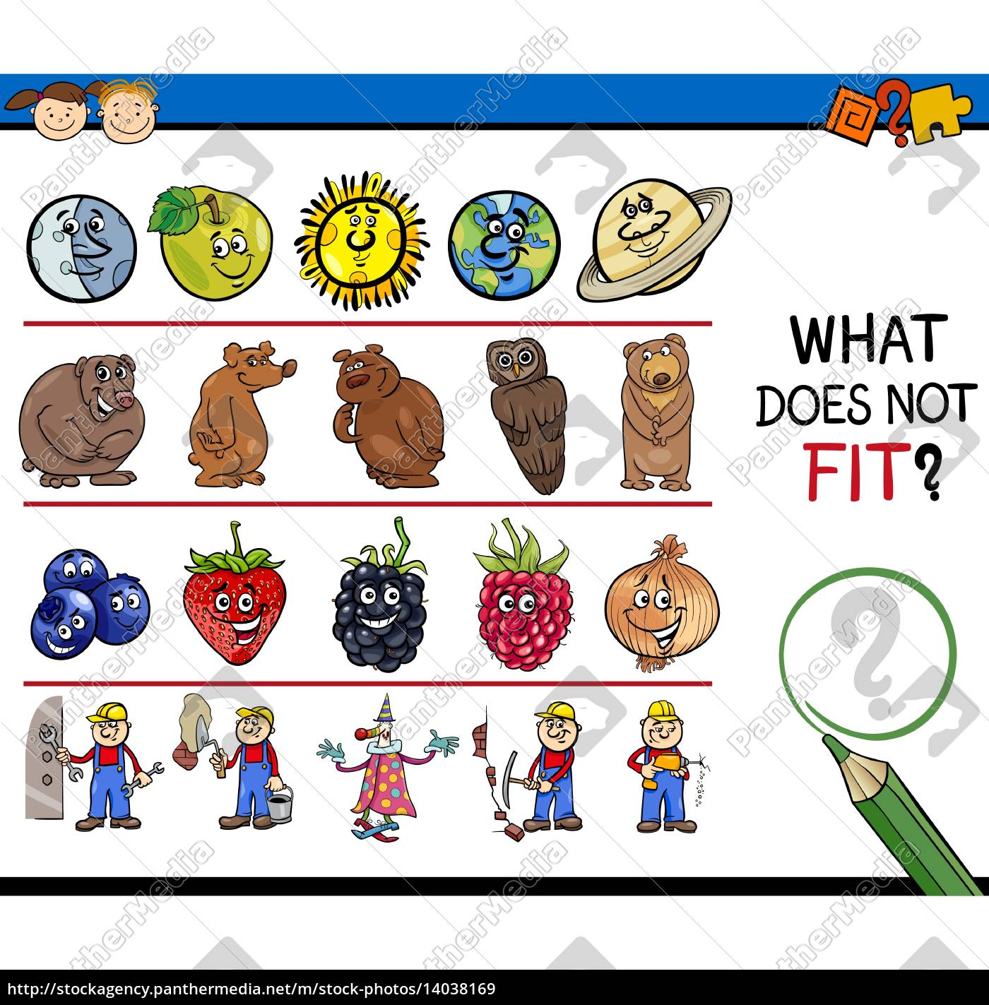 what, does, not, fit, game, cartoon - 14038169