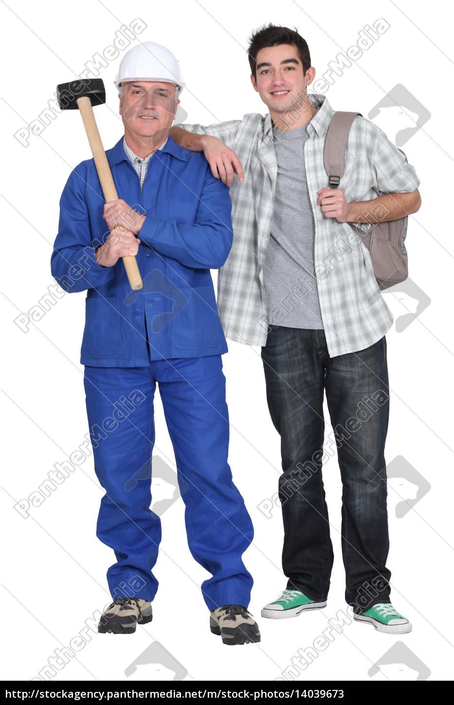 mason, and, young, man - 14039673