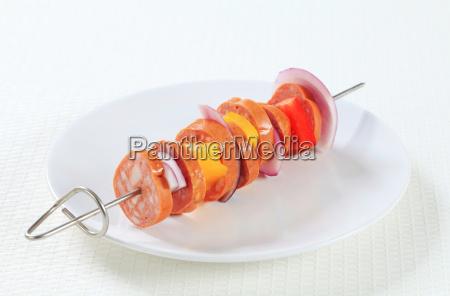 sausage, skewer - 14039609