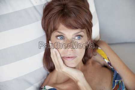worried, adult, woman, thiking - 14039291