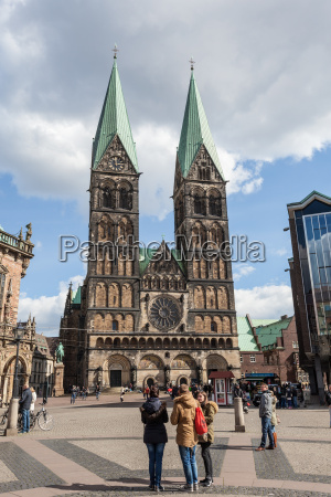 the bremer dom cathedral in the
