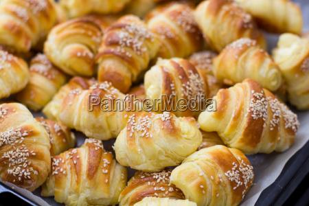 fresh, baked, croissants - 14041833
