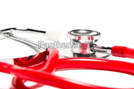 stethoscope, red - 14041653