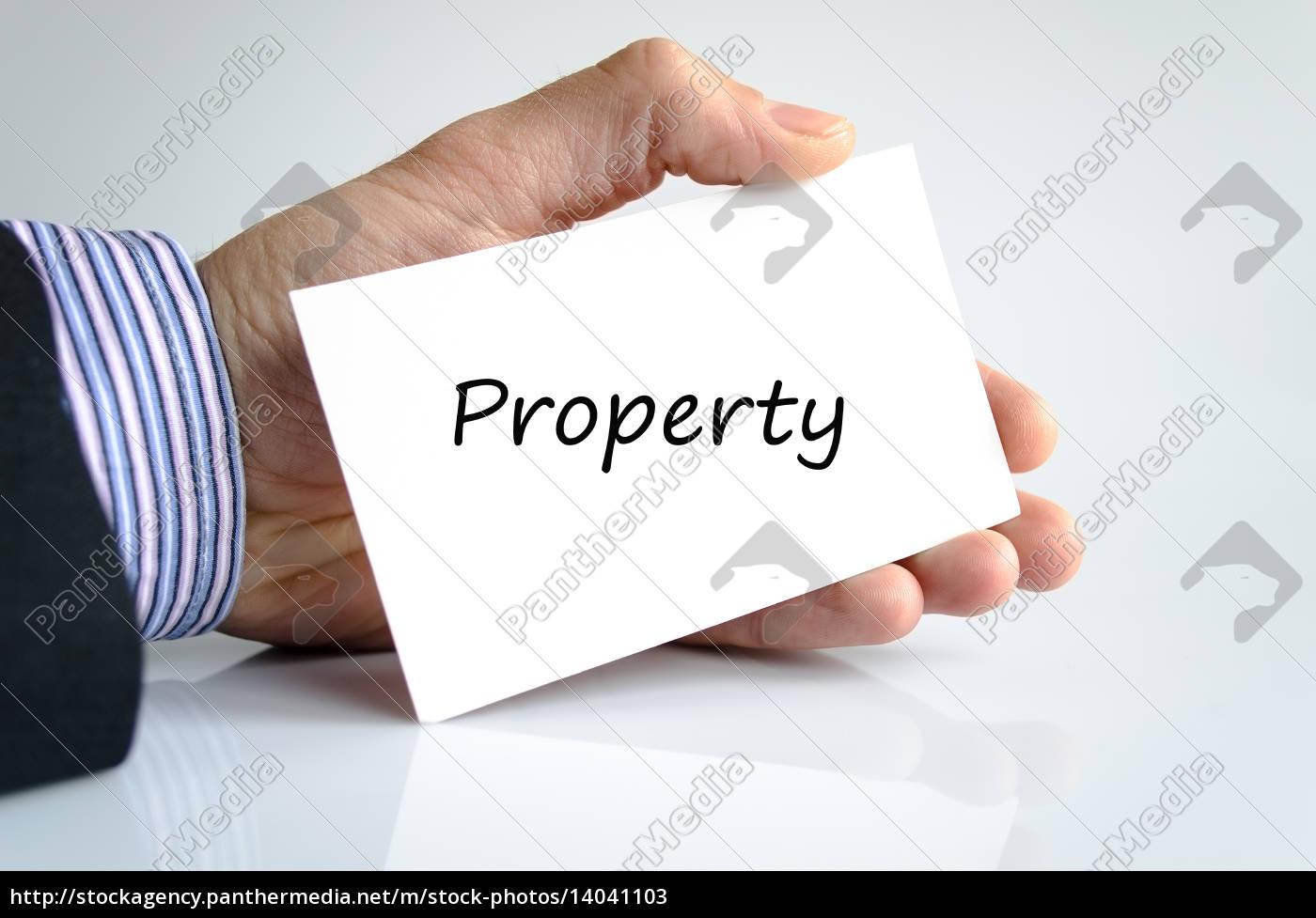 text, property - 14041103