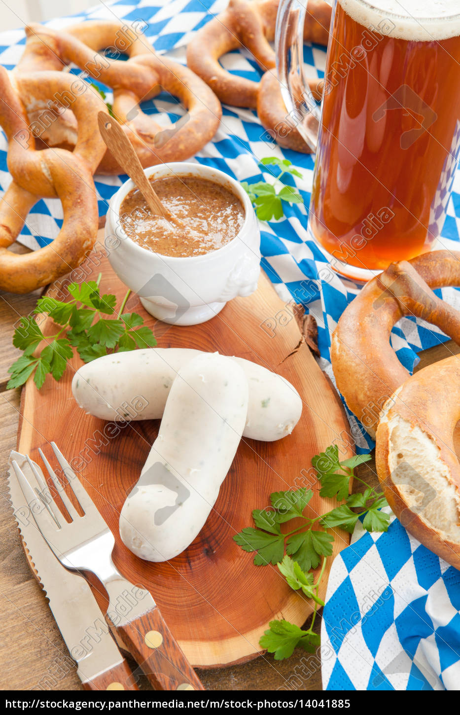 weisswurst, with, sweet, mustard - 14041885