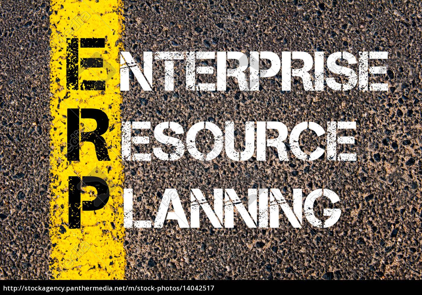 acronym, erp, -, enterprise, resource, planning - 14042517