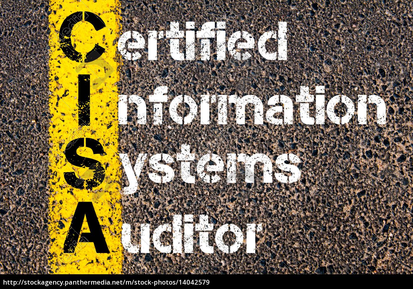 business, acronym, cisa, –, certified, information - 14042579