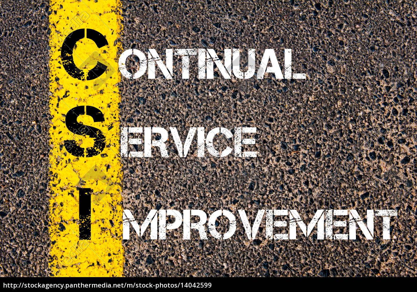 business, acronym, csi, -, continual, service - 14042599