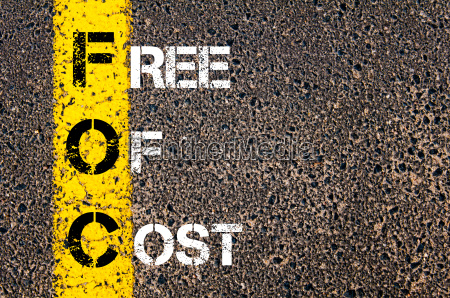business, acronym, foc-, free, of, cost.