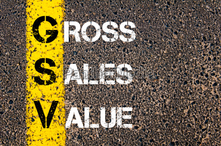 business, acronym, gsv, –, gross, sales - 14042635