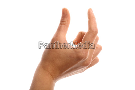 finger, measurement - 14042665