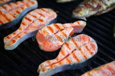 grilled, fish - 14042677